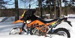 Kopplingsbyte, isåkning och mopeder