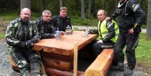 Grusåkning med AdventureBike Wermland 30-31 maj 2014