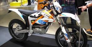 Provkörning av KTM Freeride E